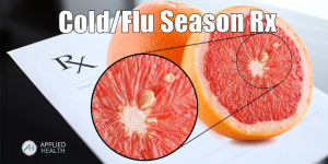 How to use Grapefruit Seed Extract to fight cold and flu season.